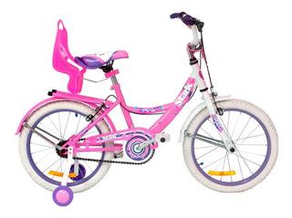 Bicicleta Stark Dama Flores Rodado 16 6095 Tio Musa