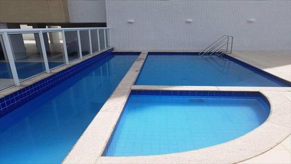 Apartamento Em Vila Guilhermina, Praia Grande/sp De 72m² 2 Quartos À Venda Por R$ 265.000,00 - Ap337285