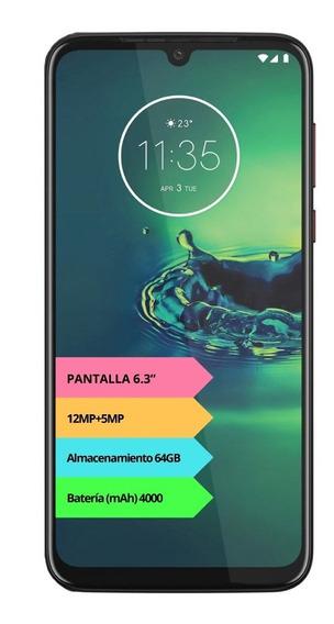 Celular Motorola Moto G8 Plus 4g 64gb 4gb Gtia Oficial 12cts