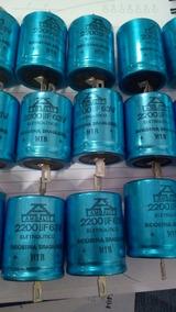 Capacitor 2200uf 63v Eletrolitico