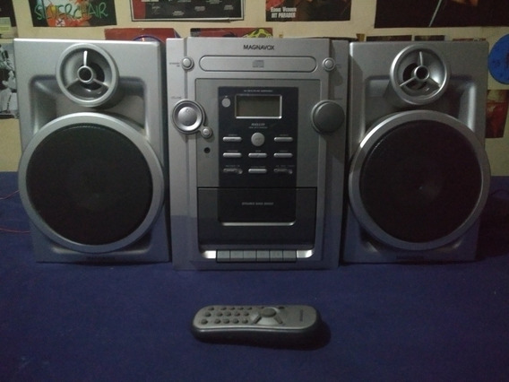 Som Mini System Magnavox Mas139/78 Cd Radio Tape