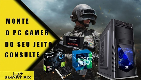 Pc Gamer Cpu I5, 16gb Ddr3, Ssd 120 Ou Hd 500 Gb, Geforce Gt 710 Gigabyte 2gb Ddr5 , Wifi