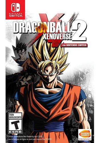 Imagem 1 de 1 de Dragon Ball Xenoverse 2 Switch Mídia Física Lacrado