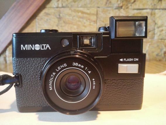 Camara Antigua Minolta Vintage Modelo Hi Matic Gf