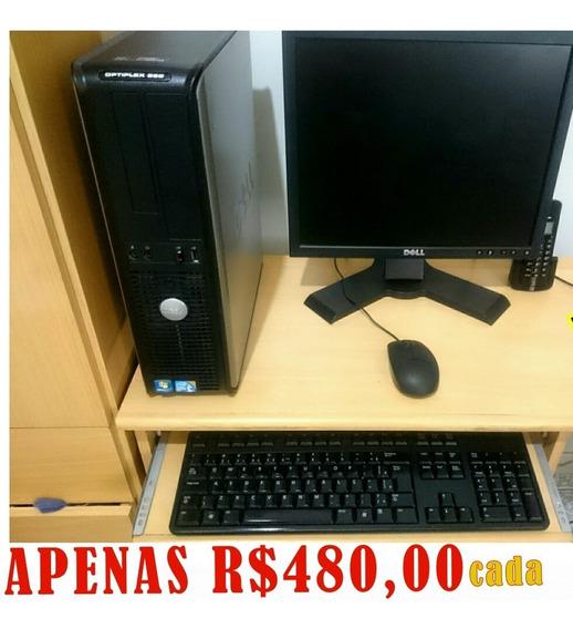 Desktop Dell Optiplex 380 + Lcd Dell 17