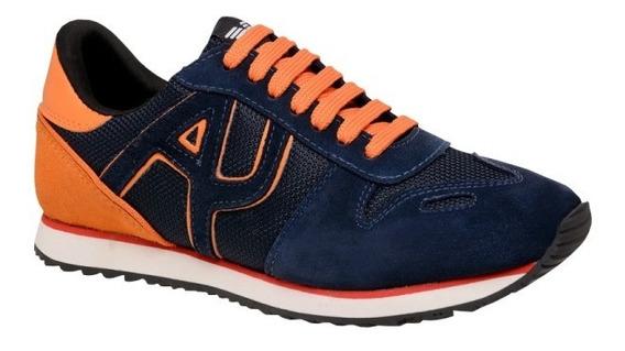 Tênis Sapatênis Armani Jeans Aj 100% Original