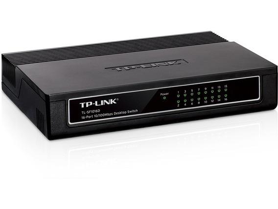 Switch 16 Puertos Tp-link Tl-sf1016d 10/100mbps