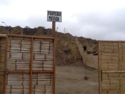 Terreno Frente Al Mar En Zorritos