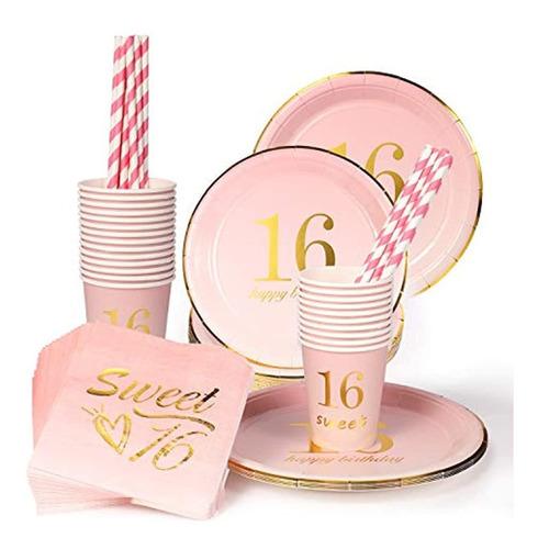 Kit Decorativo Para Fiestas De 16 Cumpleaños