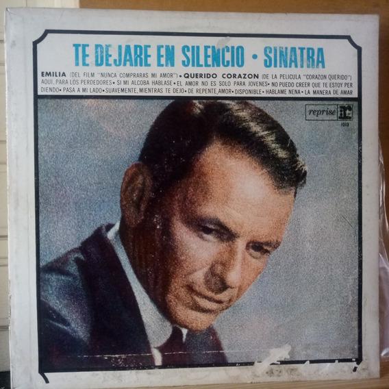 Frank Sinatra Te Dejare En Silencio Detalles Tapa Vinilo 9 P