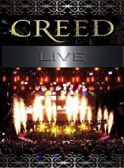 Creed - Live [dvd] Digipack Lacrado Tremonti Scott Stapp