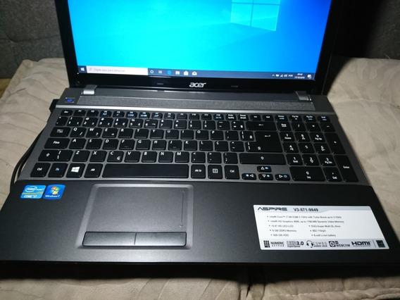 Notebook Acer Aspire V3-571-9849 Intel I7 8gb Hd 1tb