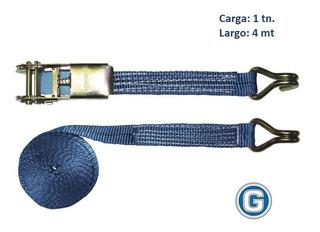 Criquet Tensor Traca Traka Cinta Amarre Carga 1t 25mm X4mt