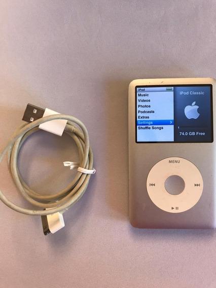 iPod 80gb 6th Geração - Modelo A1238 - Usado