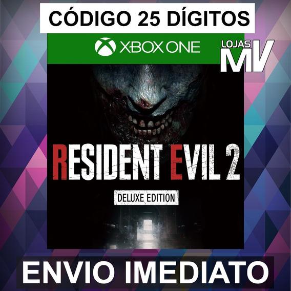 Resident Evil 2 Deluxe - Xbox One Código 25 Digitos