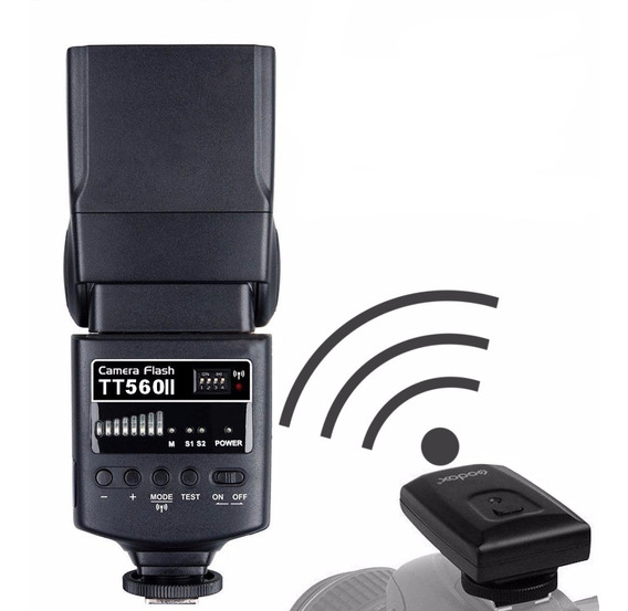 Flash Speedlite Thinklite Godox Tt560 Ii Canon Nikon Fuji