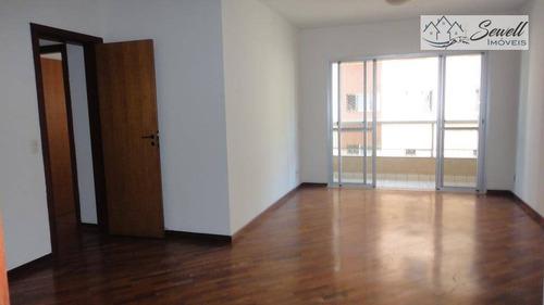 Apartamento Com 3 Dormitórios Para Alugar, 105 M² Por R$ 3.000,00/mês - Ipiranga - São Paulo/sp - Ap0685
