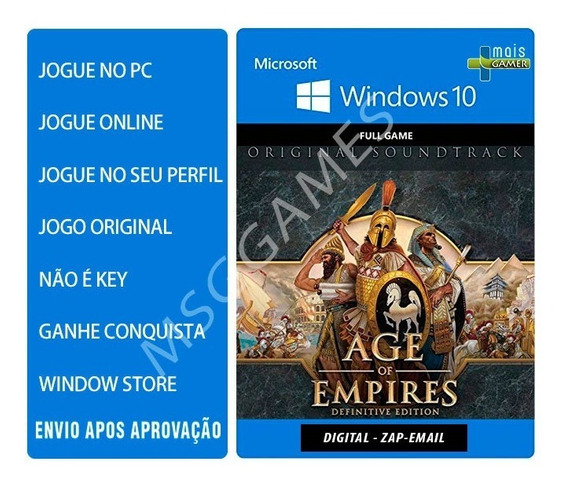Age Of Empires: Definitive Edition - Pc Windows 10 - Online
