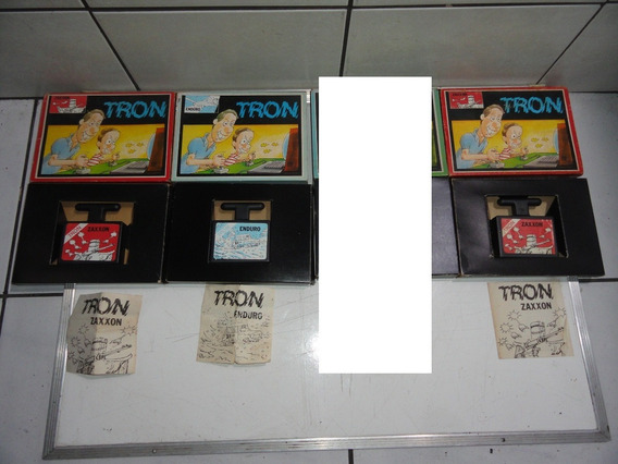 Lote Tron Atari Zaxxon Enduro