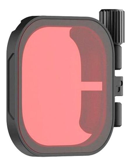 Polar Pro Red Filter Para Gopro Hero8 Con Carcasaprotectora