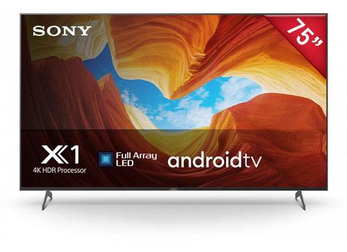 Imagen 1 de 4 de Pantalla Led Sony 75  Ultra Hd 4k Smart Tv Xbr-75x900h La1