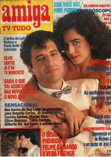 Revista Tv Amiga Paulo Betti Silvio Santos Jan 1987 (789)