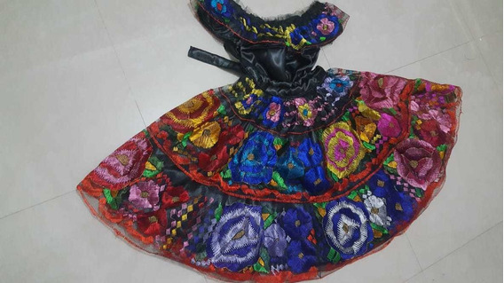 Vestido De Niña Chiapaneca