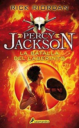 Percy Jackson 4 - La Batalla Del Laberinto - Rick Riordan