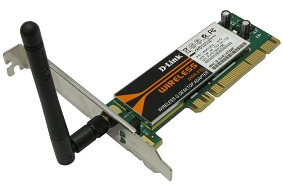 Placa De Red Wifi Pci D-link Dwa-510 1 Antena