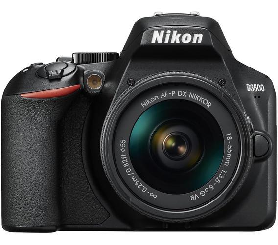 Câmera Nikon D3500 Com Lente 18-55mm Vr 24,2 Mp Envio Rápido