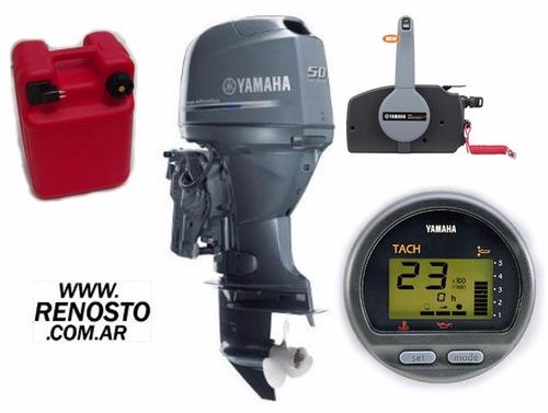 Motores Yamaha 50hp 4 Tiempos Full Carburados