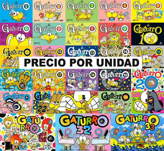 Colección Gaturro Clásica Historietas Tienda Oficial Gaturro