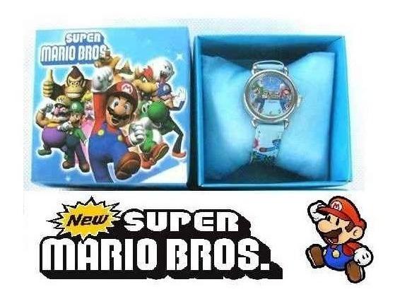 Relógio Super Mario Bros - O Relógio Do Mario -nintendo Wii