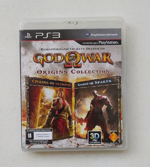 Jogo God Of War Origins Collection Ps3 - Usado - Seminovo Cd