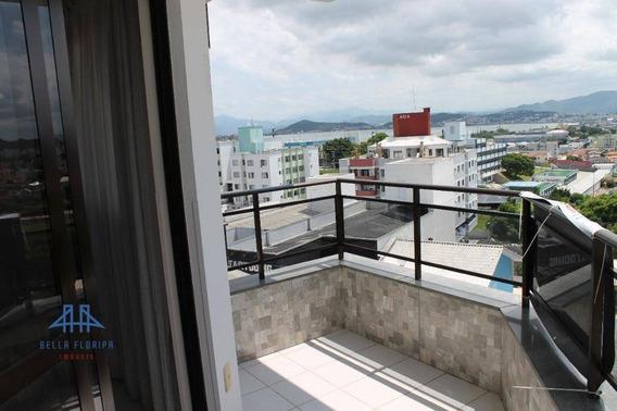 Apartamento Com 113m², 03 Dormitórios Com 02 Vagas De Garagem, Em Capoeiras - Ap2618