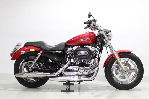 Harley Davidson Sportster 1200 Xl Custom 2013 Vermelha