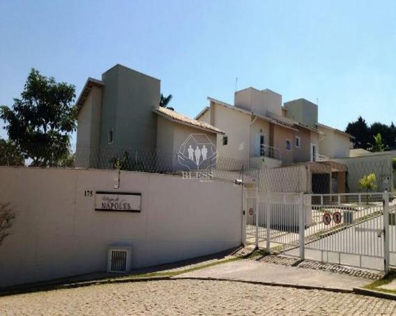 Casa Em Condominio Villagio De Nápoles. Para Venda.chácara Morada Mediterrânea, Jundiaí-sp. 3 Suítes, 1 Sala, 1 Banheiro, 2 Vagas. 150,00 Construída, - Cc00275 - 4844283