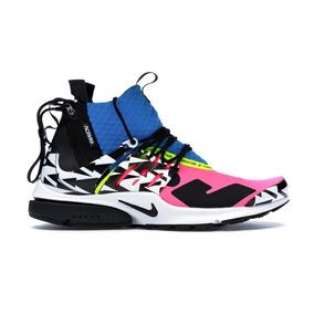 Tenis Nike Air Presto Mid Sp Acronym Racer Pink 42