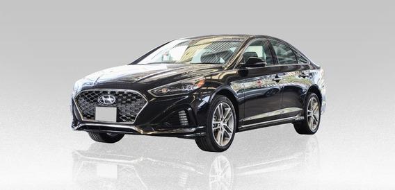 Hyundai Sonata Sport 2.0l 2018 Negro 4 Puertas