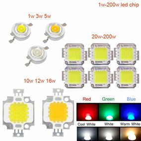 Kit Personalizado Chip Led 1w 3w 10w 50w 100w