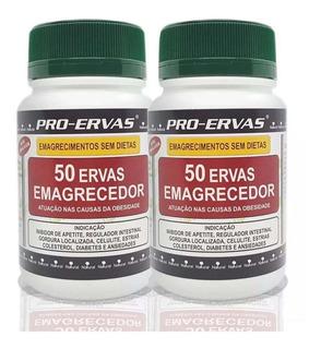 Kit 2 - Remedio Para Emagrecer, Emagrecedor Potente 50 Ervas