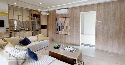 Apartamento À Venda, 117 M² Por R$ 1.110.000,00 - Belenzinho - São Paulo/sp - Ap0815