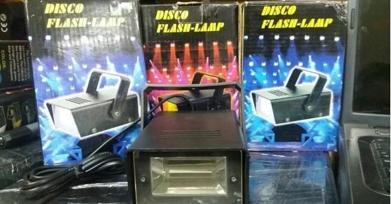 Luz Flash Estrobo Party Dj Sonido Efectos Disco Minitk 6$ Lc