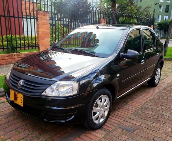 Renault Logan Familier Negro Excelente Estado