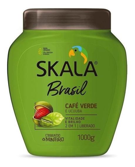 Crema Skala Cafe Verde 2 En 1 Nutricion. 100% Vegano 1kg