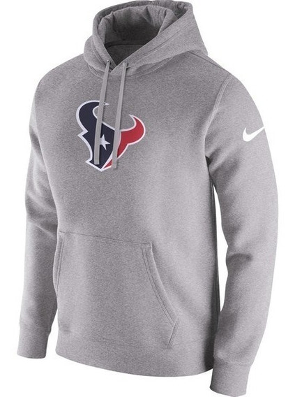 Blusa Casaco Moletom Texans Club Fleece Pullover Hoodie