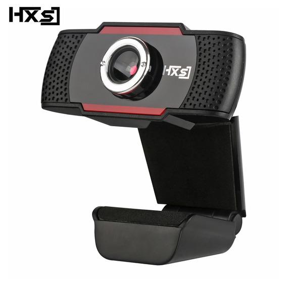 Hxsj S20 Hd 4pc Camera Com Microfone De Absorcao Preta