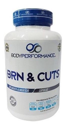 Pre Entreno Body Perfomance Brn & Cuts 100 Caps (100 Srvs)