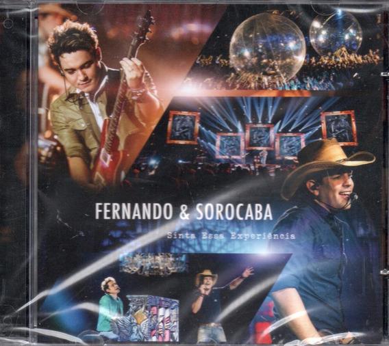 Cd Fernando E Sorocaba - Sinta Essa Experiência