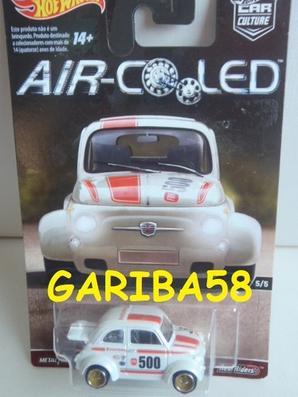 R$40 No Lote Hot Wheels 60´s Fiat 500 2017 Air-cooled G58